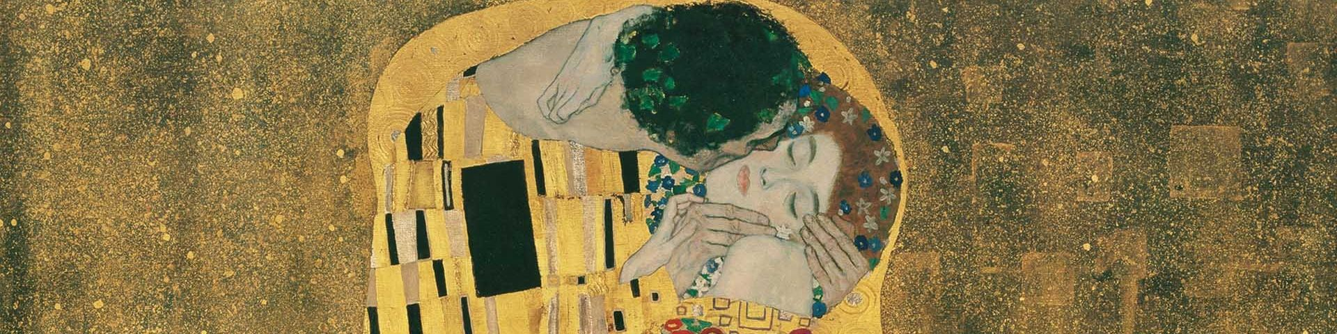 The Kiss, by Gustav Klimt